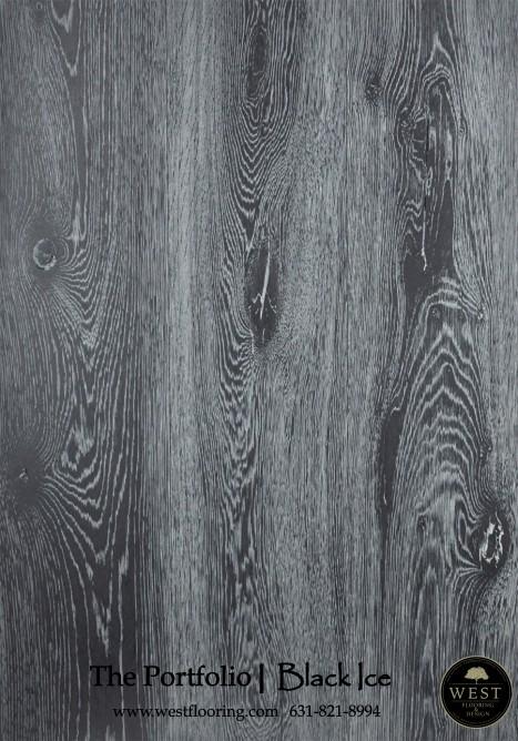 Black Wood Floors Black Ice