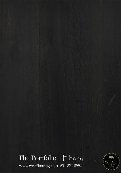 Black Wood Floors Ebony