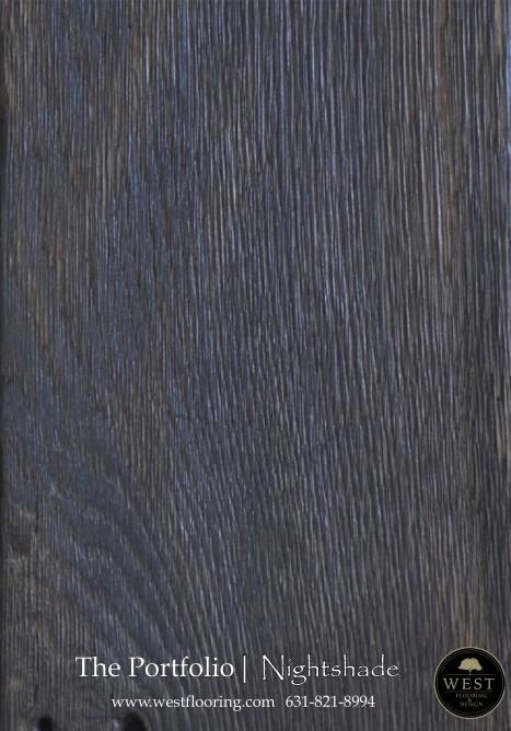 Black Wood Floors Nightshade