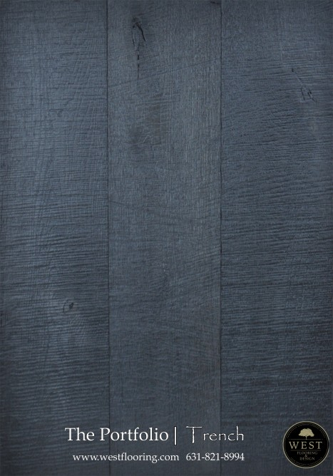 Black Wood Floors Trench