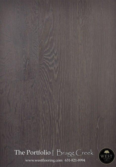 Brown Wood Floors Bragg Creek