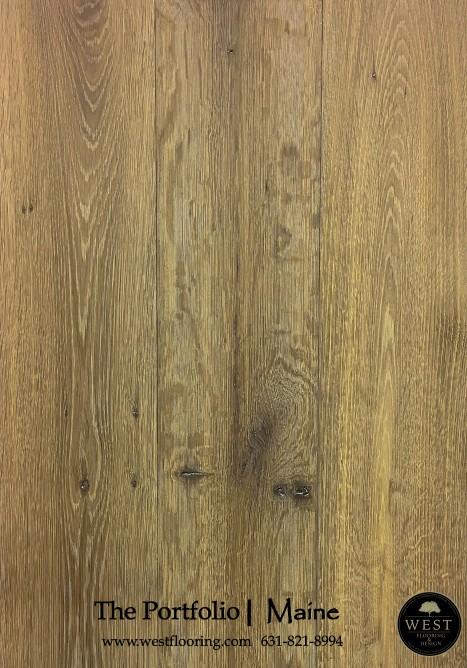 Brown Wood Floors Maine