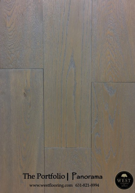 Grey Wood Floors Panorama