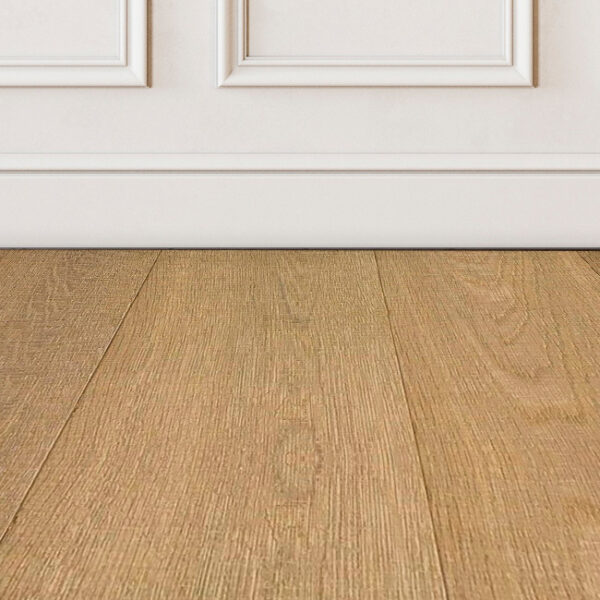 Hook-Brown-wood-floor-sample-on-white-wall