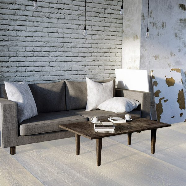 Oyster Sample - Light Hardwood Floor