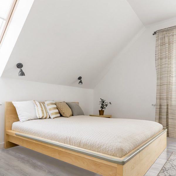 Haze Bedroom – Grey Hardwood Flooring