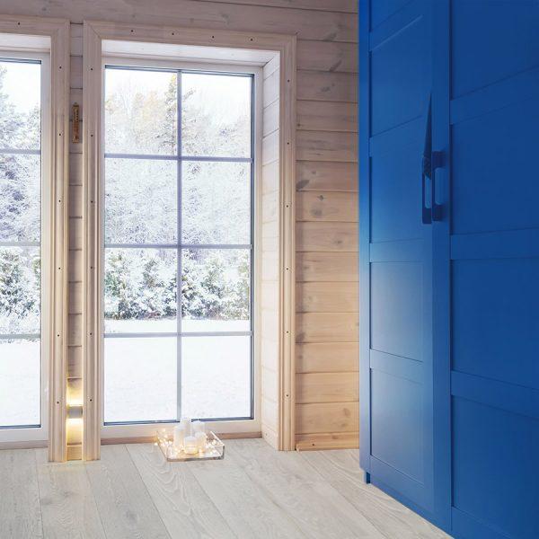 Rustic Snowdrop Sample - Light Hardwood Flooring
