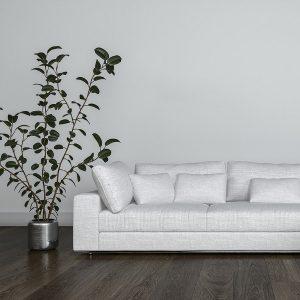 Banff Living Room – Dark Hardwood Floors