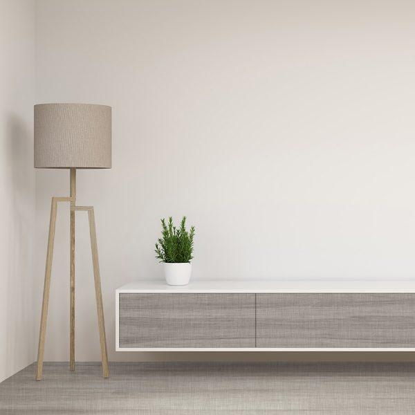 Cliff Room – Grey Hardwood Flooring