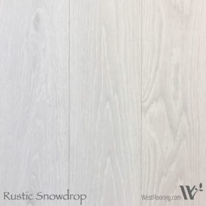Rustic Snowdrop Wood Floor Color Sample