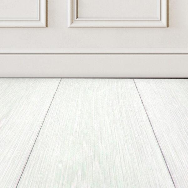 Snow Drop White Hardwood Floor Color