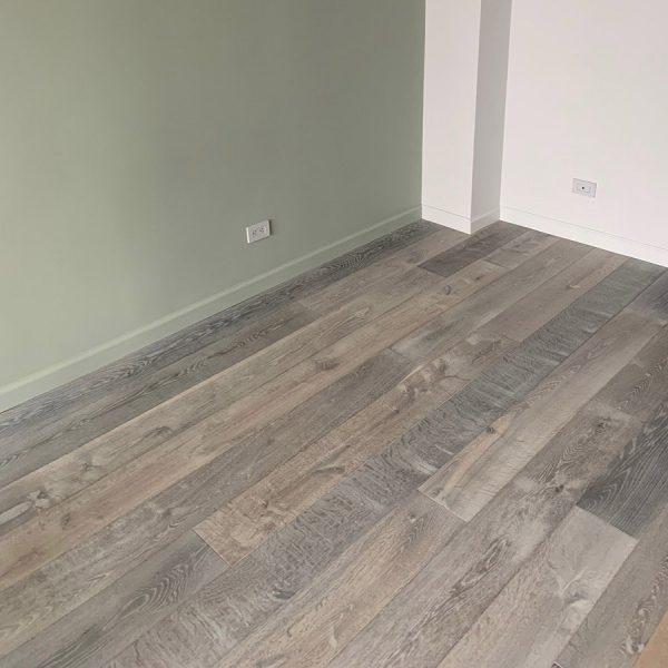 "Tundra on European Oak, Character Grade, 7"" wide planks"