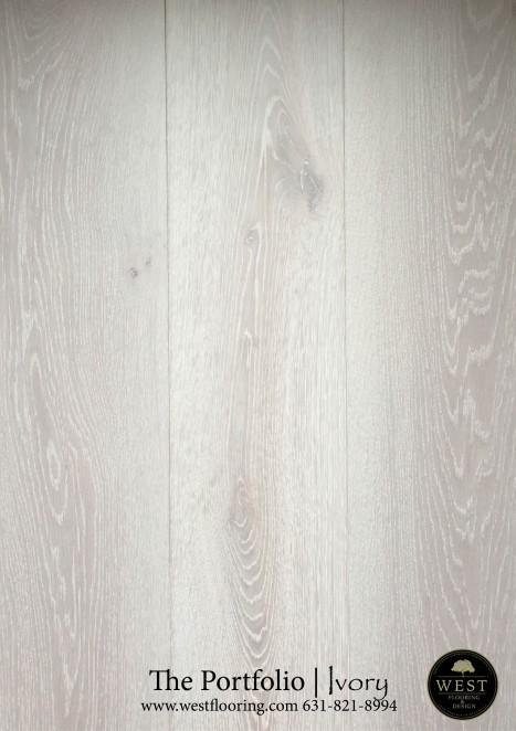 White Wood Flooring Ivory