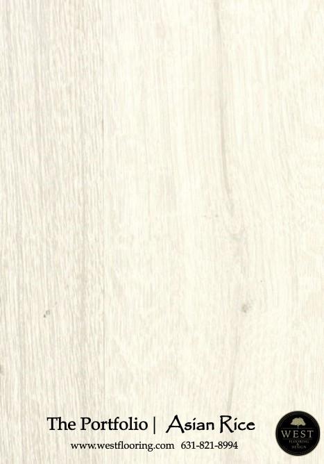White Wood Floors Asian Rice