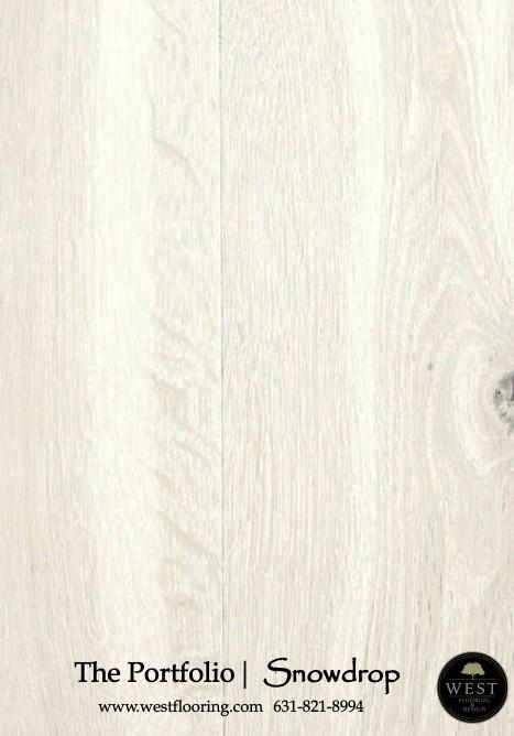 White Wood Floors Snowdrop