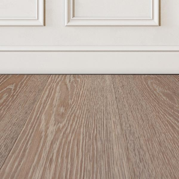 Ivory Hardwood Color West Wood, White Beading For Laminate Flooring