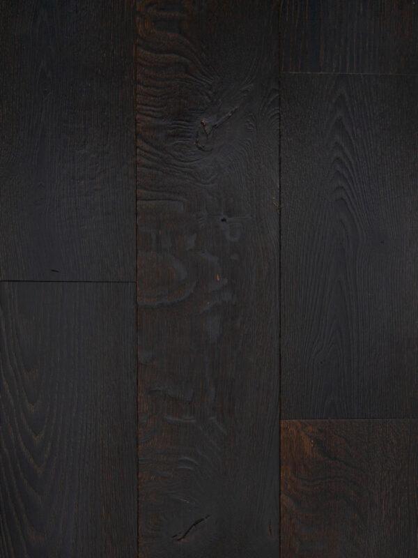 black wood floor panel color night shade