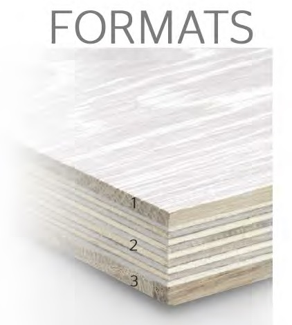 Board layers Engineered floor construction