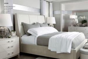 Bed Bernhardt Project White Wood Floor