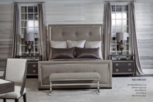 Bedroom Bernhardt Project White Wood Floor