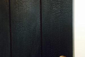 black-wood-doors
