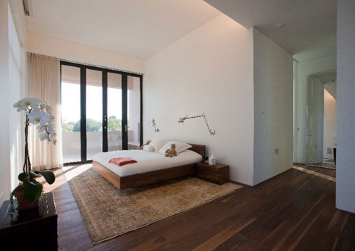 Brown Wood Floor 561 Tranquil Bedrooms