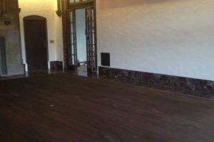Living Room Dark Wood Floor Restoration Projects