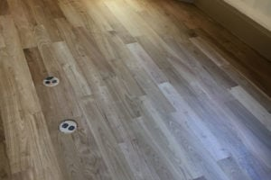 Living Room Natural Wood Floor Restoration Projects