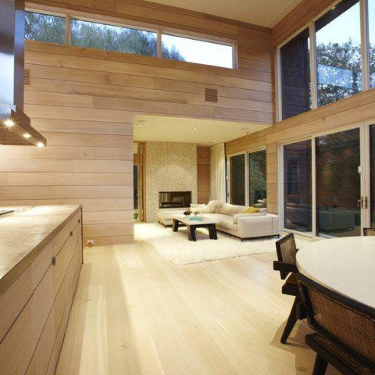 Natural Wood Floor 361 Grand Common Areas