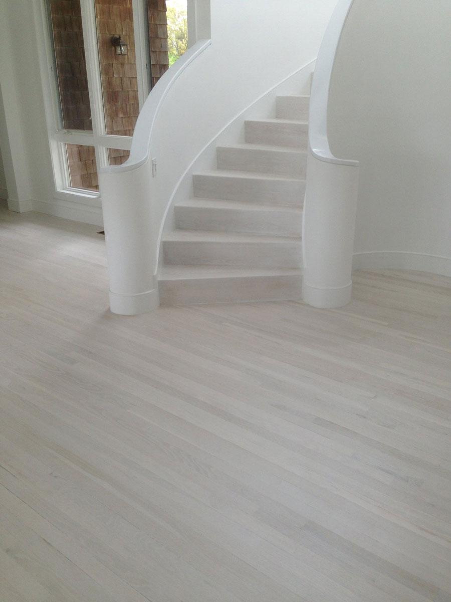 Stairs Bernhardt Project White Wood Floor