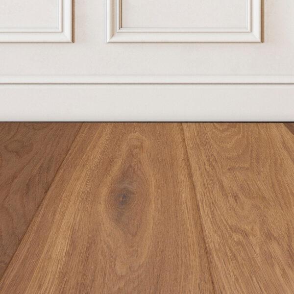 Harbor-Brown-wood-floor-sample-on-white-wall