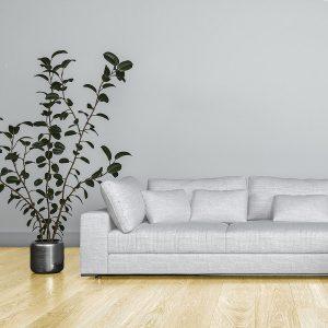Santa Cruz Living Room – Natural Hardwood Flooring