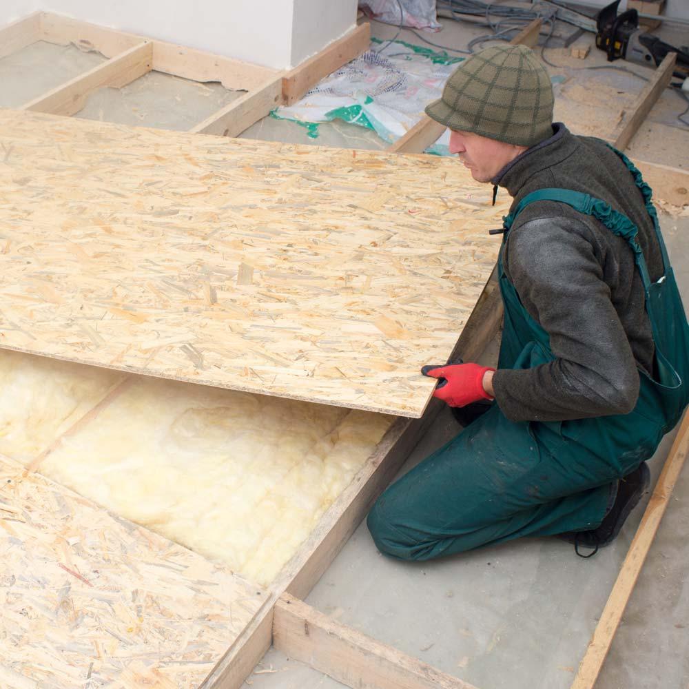 Subfloor Installation