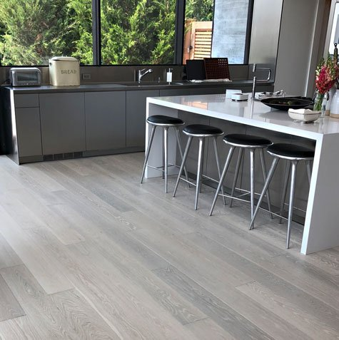 WEST | WOOD Architectural Surfaces Grey Hardwood floor stain color