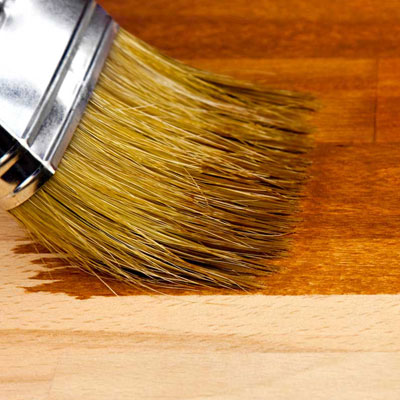 request hardwood color sample wood stain brush