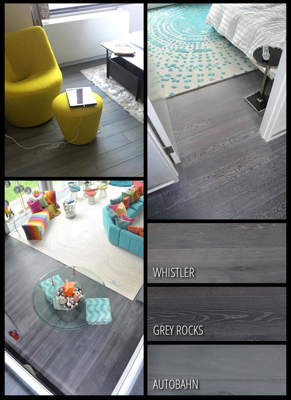 Grey Hardwood Examples