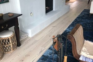 Heart Pine Flooring with the Snowdrop color.