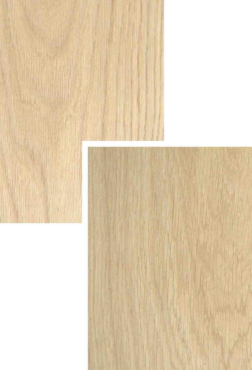 American & European Oak