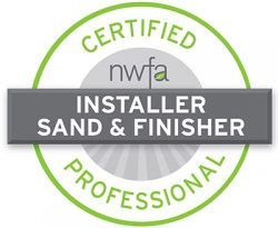 NWFA Certified Installer and Sand & Finisher