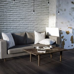 Santa Fe Sample - Dark Hardwood Flooring