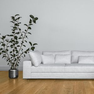 Sunstone Living Room – Brown Hardwood Flooring