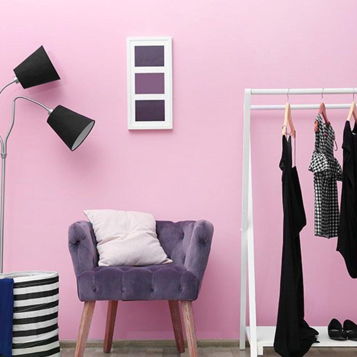 Pale Pink Room