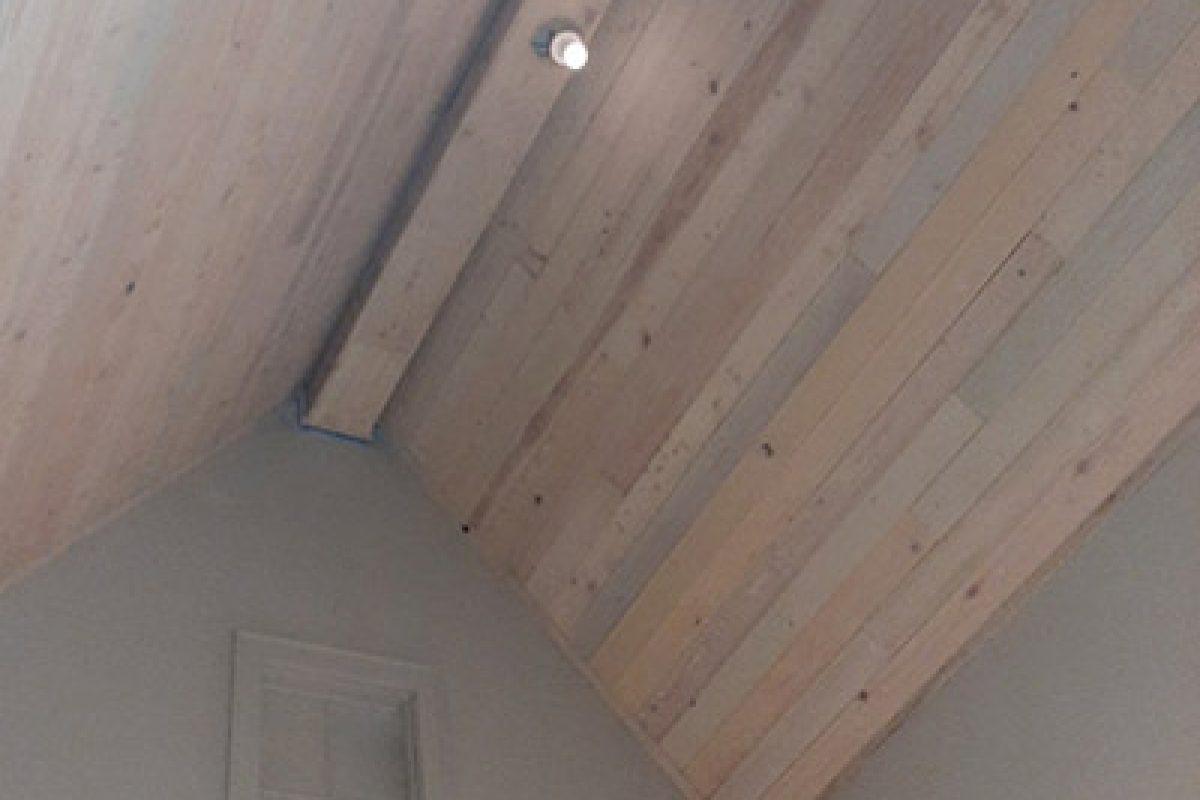 Whitewashed Cypress Ceiling