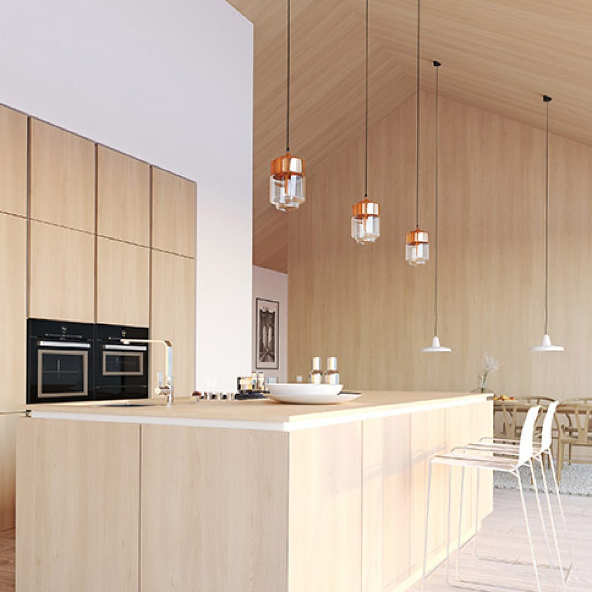 Light Wood Kitchen