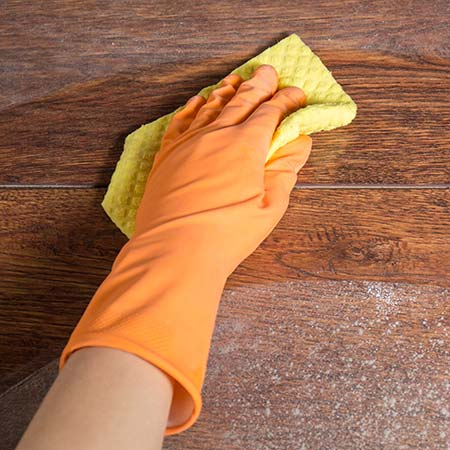 Daily Cleaning of Hardwood Floors