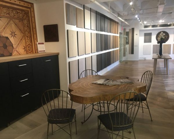 west wood new york city-flooring showroom A&D building