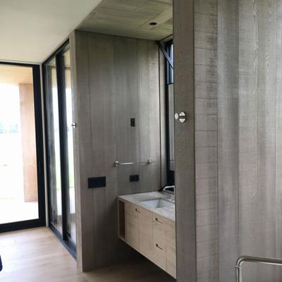 grey wood wall panels