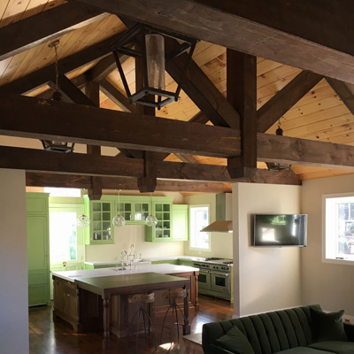 decorative wood beams