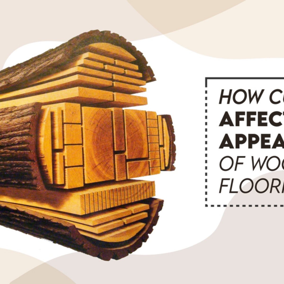 CEU course how cuts affect appearance of wood floorin