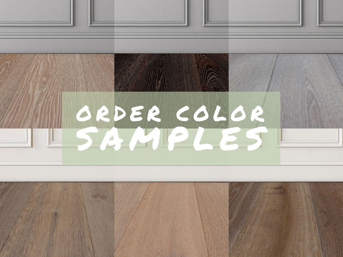 Wood Floor Color Samples